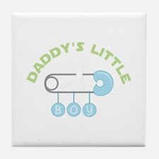 Daddys Little Boy Tile Coaster