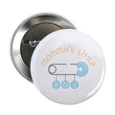 "Mommys Little Boy 2.25"" Button"
