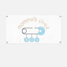 Mommys Little Boy Banner