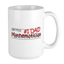 Job Dad Mathematician Mug