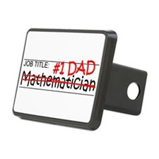 Job Dad Mathematician Hitch Cover