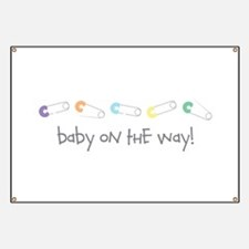 Baby On The Way Banner
