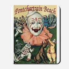Pontchartrain Beach Poster Mousepad