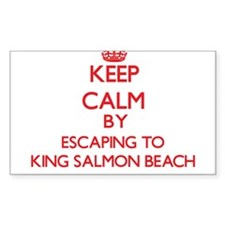 Keep calm by escaping to King Salmon Beach Alaska