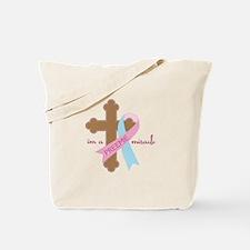 I'm a Preemie Miracle Tote Bag