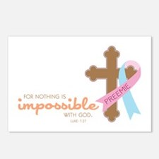 Nothing Is Impossible with God Postcards (Package