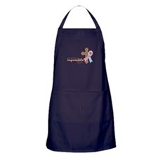 Nothing Is Impossible with God Apron (dark)