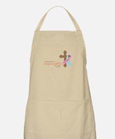 Nothing Is Impossible with God Apron