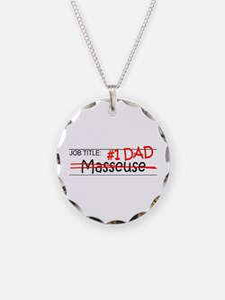 Job Dad Masseuse Necklace