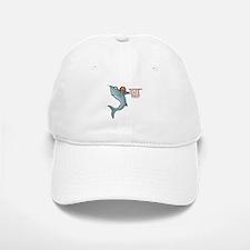Funny Basketball Shark Baseball Baseball Cap