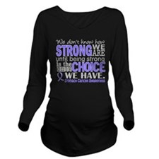Stomach Cancer HowSt Long Sleeve Maternity T-Shirt