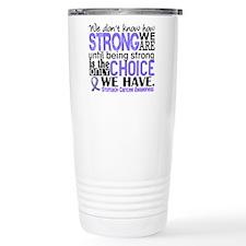 Stomach Cancer HowStron Travel Mug
