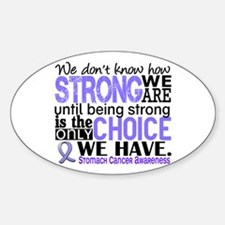 Stomach Cancer HowStrongWeAre Decal