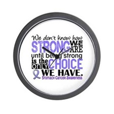 Stomach Cancer HowStrongWeAre Wall Clock