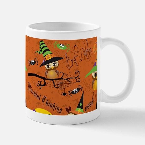 Halloween Owls 2 Mugs