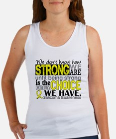 Sarcoma How Strong We Are Women's Tank Top