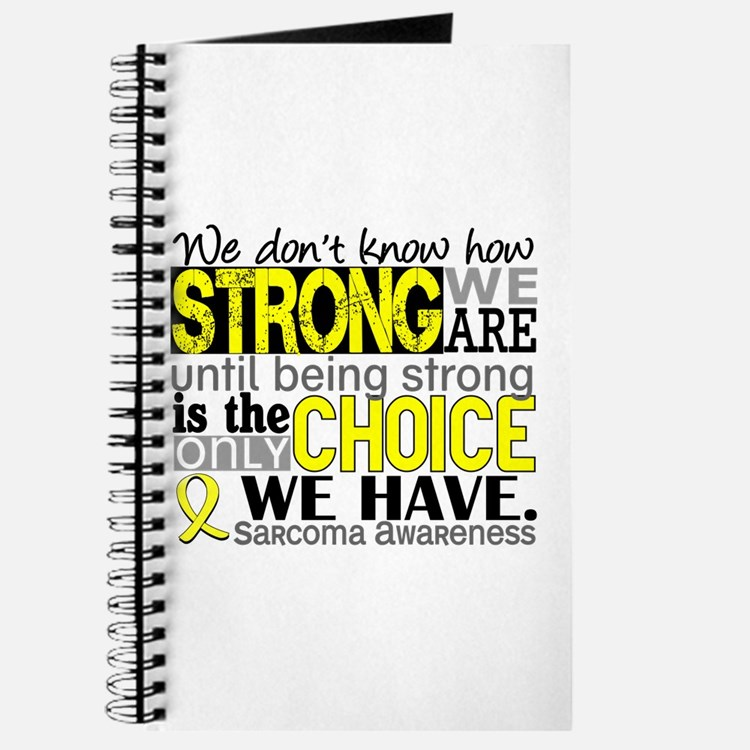 Sarcoma How Strong We Are Journal