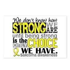 Sarcoma How Strong We Are Postcards (Package of 8)