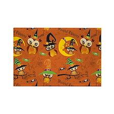 Halloween Owls 2 Magnets