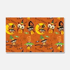 Halloween Owls 2 Car Magnet 20 x 12