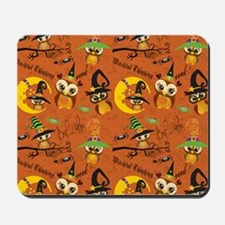 Halloween Owls 2 Mousepad