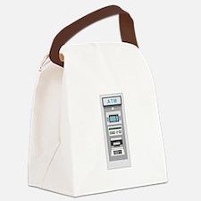 A T M Canvas Lunch Bag