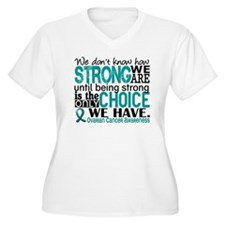 Ovarian Cancer Ho T-Shirt