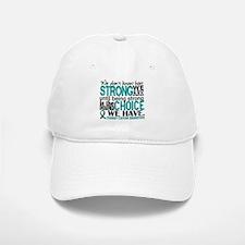 Ovarian Cancer HowStrongWeAre Baseball Baseball Cap