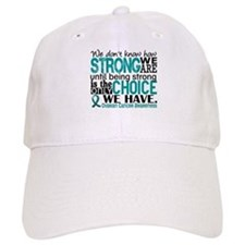 Ovarian Cancer HowStrongWeAre Baseball Cap