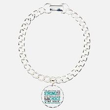 Ovarian Cancer HowStrong Bracelet