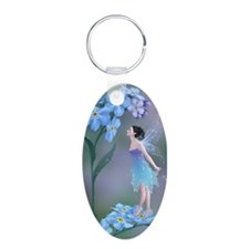 Forget-Me-Not Flower Fairy Keychains