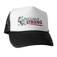 Louisiana Strong Logo Trucker Hat