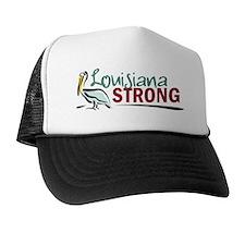 Louisiana Strong Logo Trucker Hat