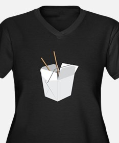 Chinese Food Plus Size T-Shirt