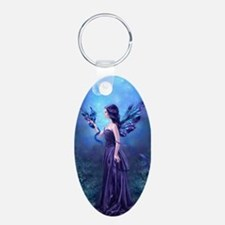 Iridescent Fairy Dragon Art Keychains