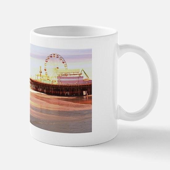 Santa Monica Pier Sunrise Mug