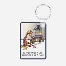Horse Health Show A Mare Keychains