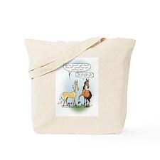 Horse Health - Shoe Toss Tote Bag