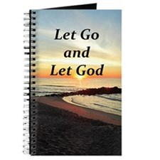 LET GO AND LET GOD Journal