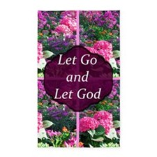 LET GO LET GOD 3'x5' Area Rug