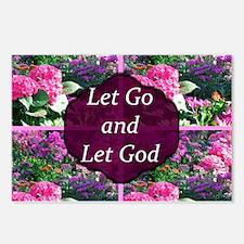 LET GO LET GOD Postcards (Package of 8)