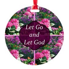 LET GO LET GOD Ornament