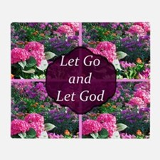 Let Go Let God Throw Blanket