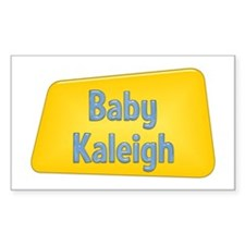 Baby Kaleigh Rectangle Decal