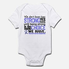 Prostate Cancer HowStrongWeAre Infant Bodysuit