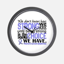 Prostate Cancer HowStrongWeAre Wall Clock