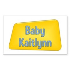 Baby Kaitlynn Rectangle Decal