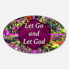 LET GO LET GOD Decal