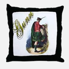 Clan Gunn Throw Pillow