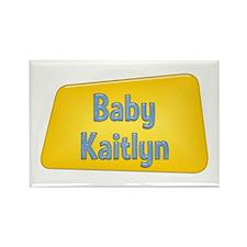 Baby Kaitlyn Rectangle Magnet